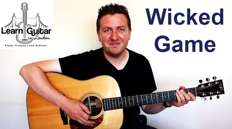 Wicked Game - Guitar Tutorial - Chris Issak - Barre Chord ...
