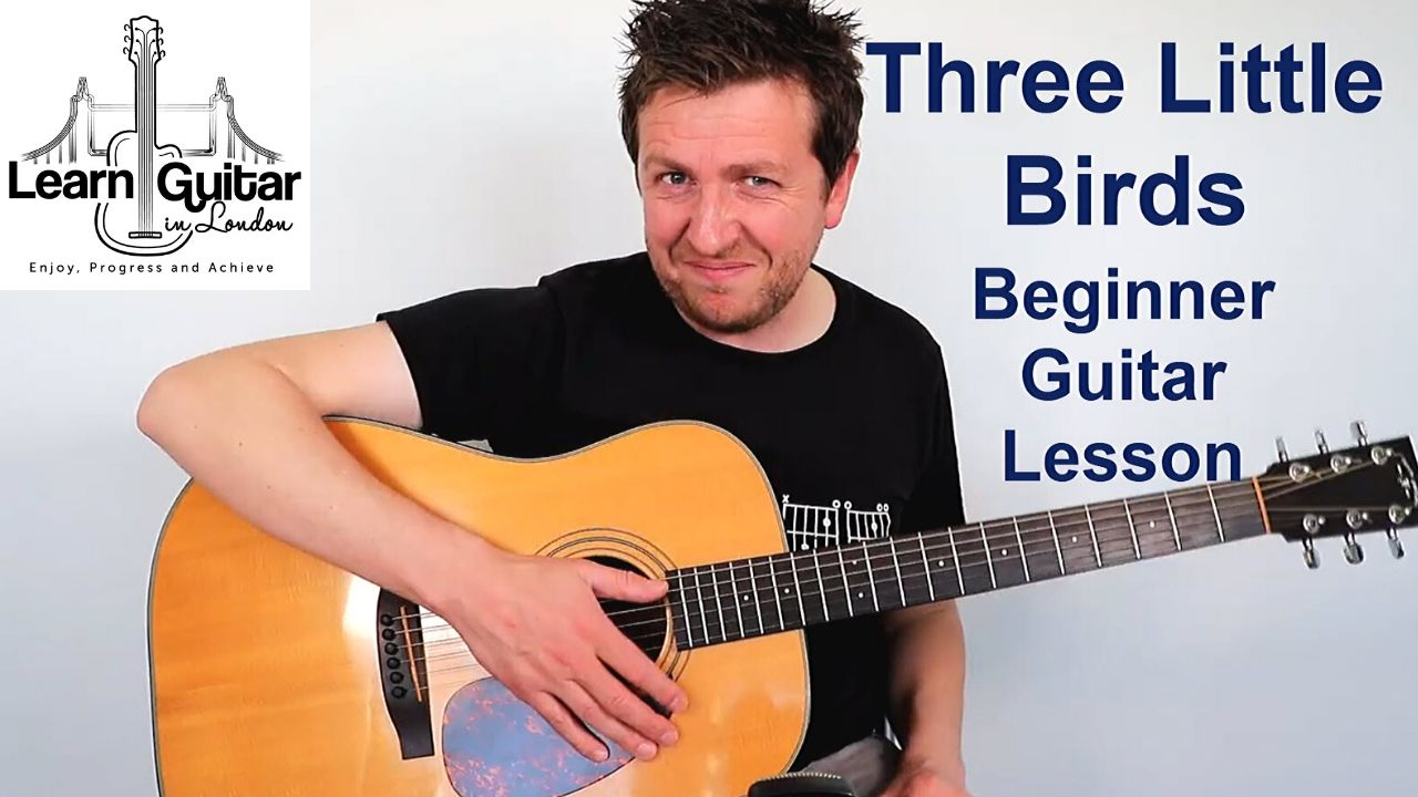 bob marley - three little birds guitar lesson drue james