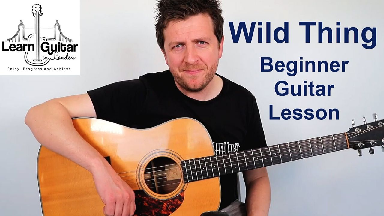 wild thing guitar lesson easy drue james
