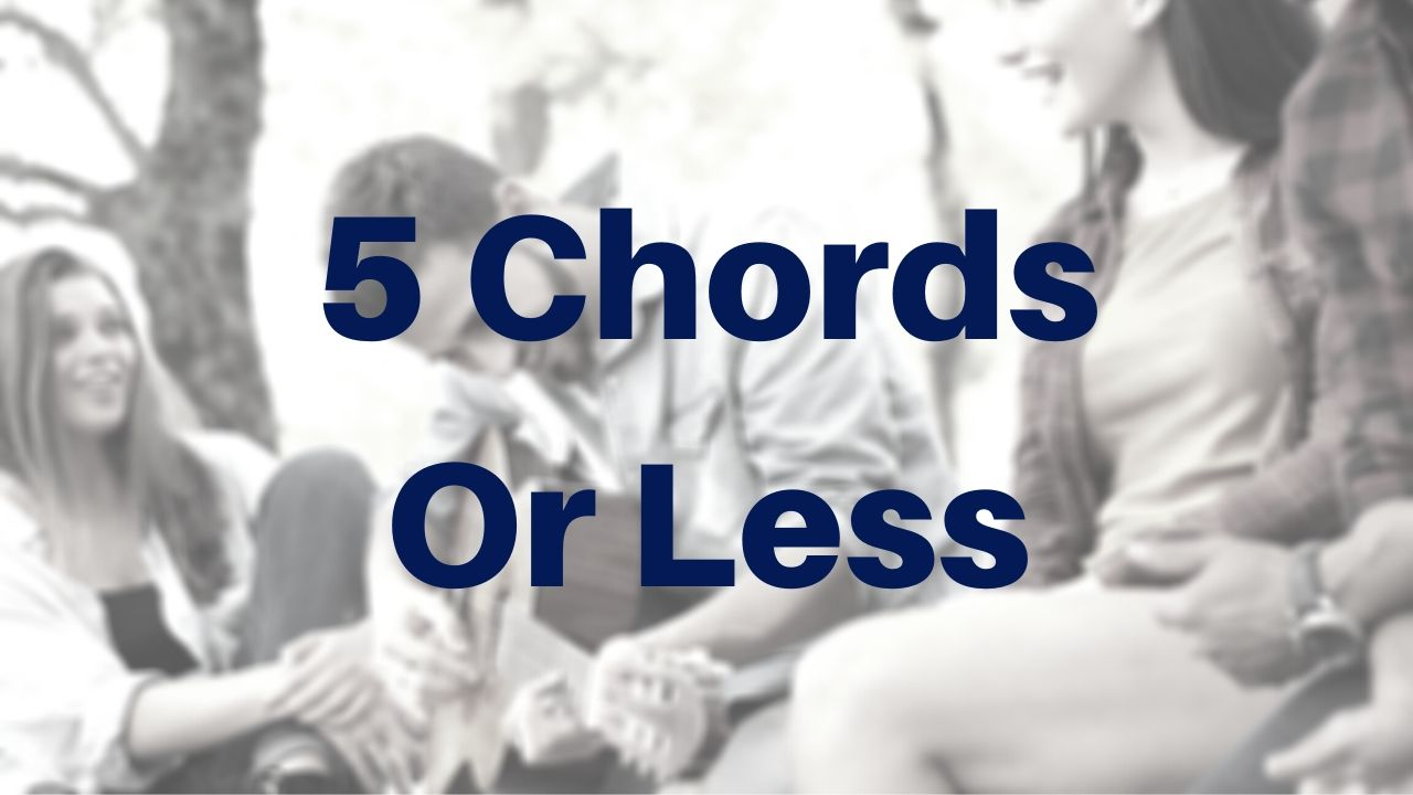 5 Chords Or Less Acoustic Guitar Lessons - Drue James