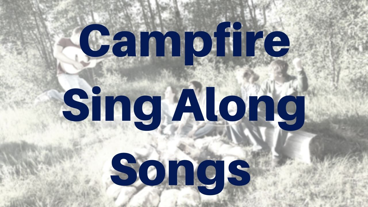 campfire guitar songs - sing along song lessons