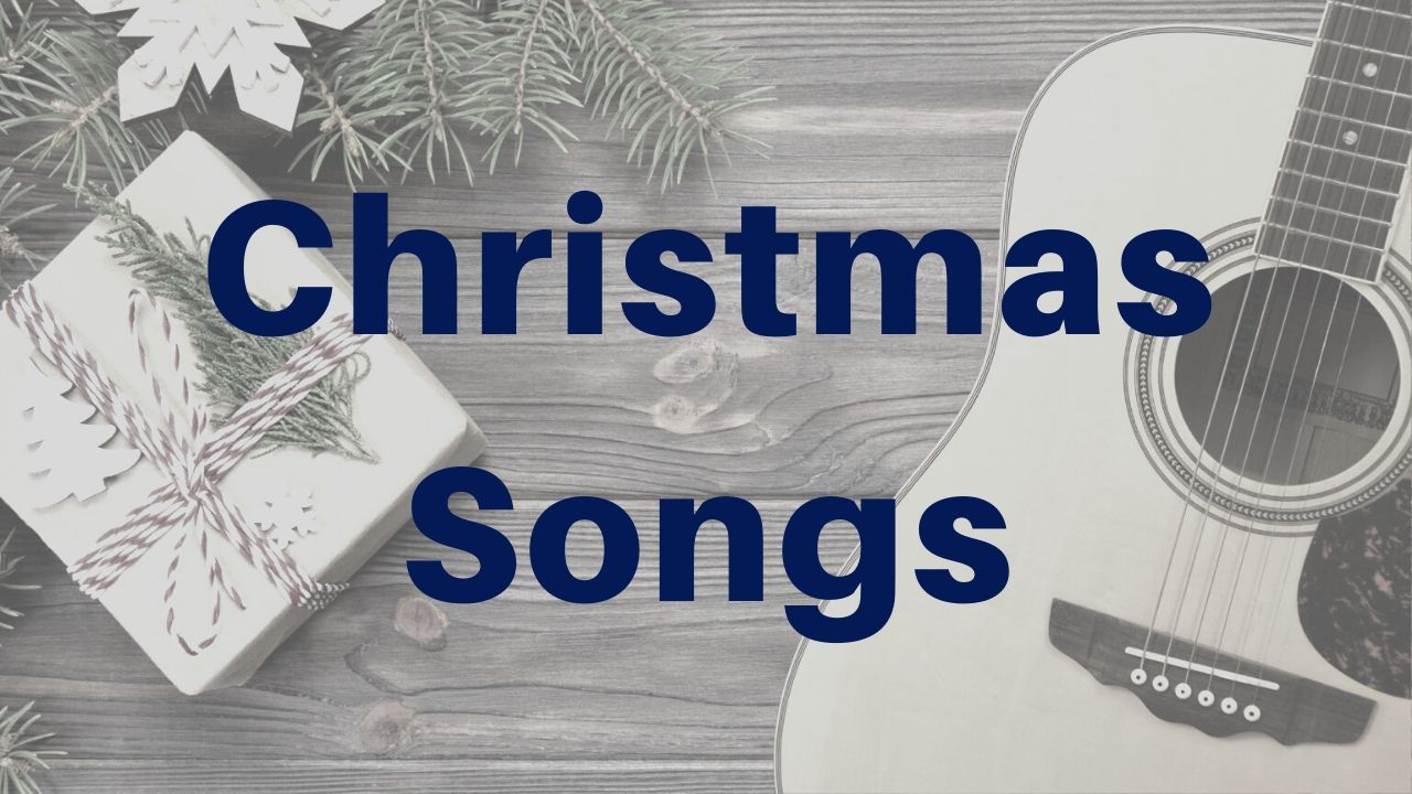 Easy Christmas Songs On Guitar - Drue James - Free Acoustic Guitar Lessons