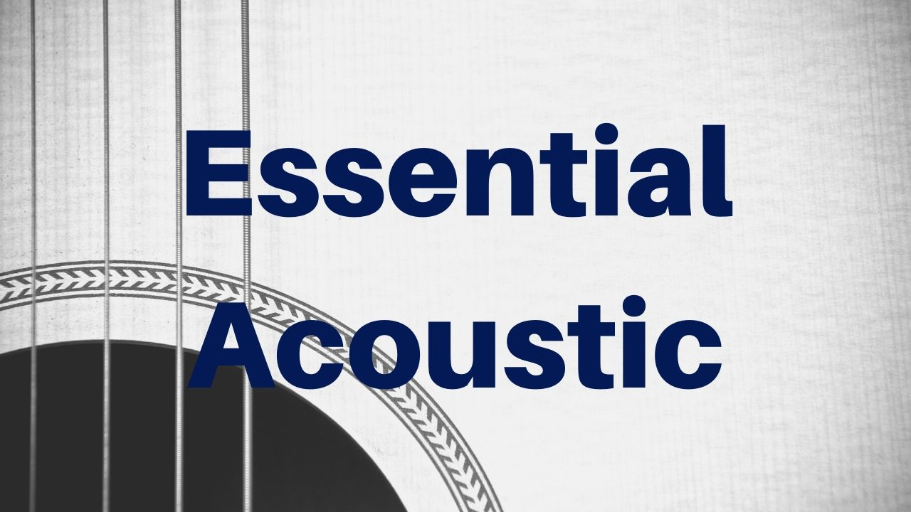 Essential Acoustic Guitar Lesson - Drue James - Free Acoustic Guitar Lessons