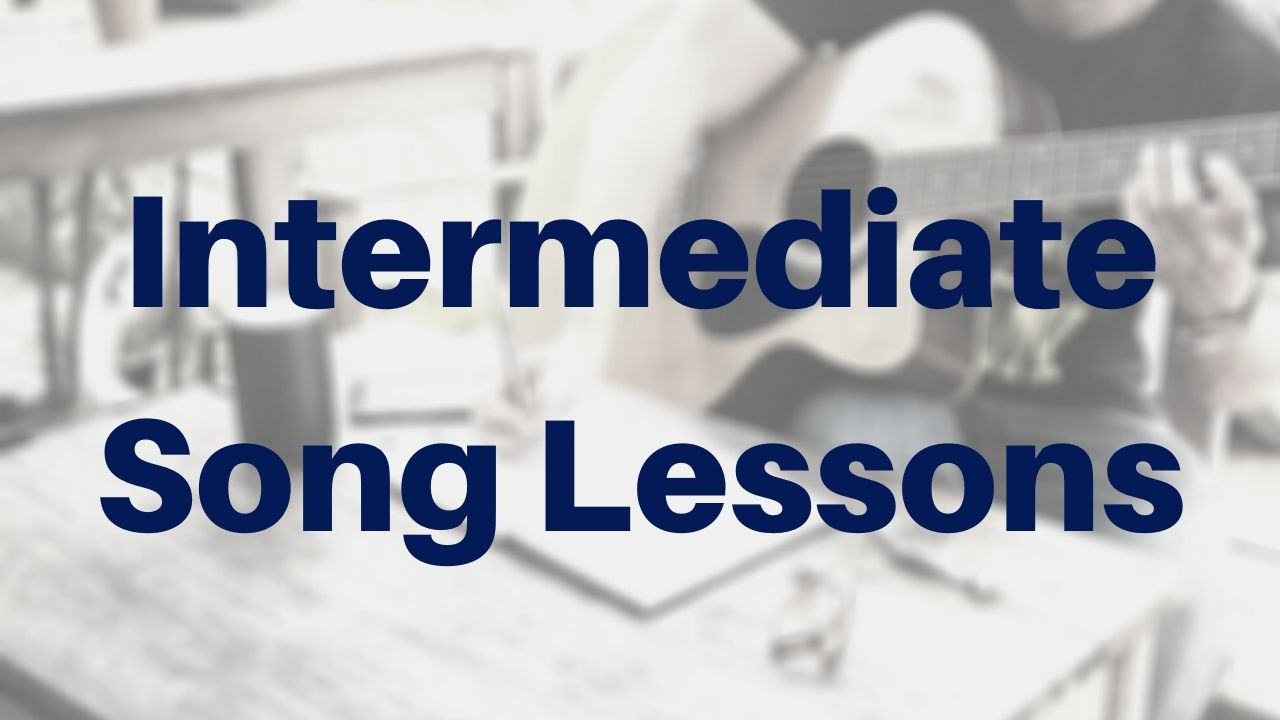 Intermediate Guitar Song Lessons - Drue James - Free Guitar Lessons